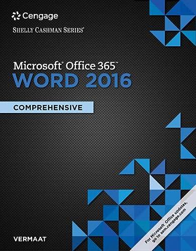 microsoft word 2016 comprehensive pdf