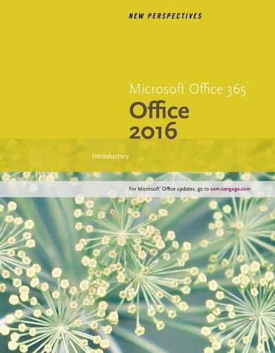 9781337251372: New Perspectives Microsoft Office 365 & Office 2016: Introductory, Loose-leaf Version
