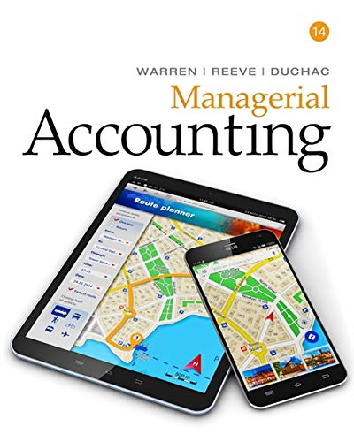 9781337270595: Managerial Accounting
