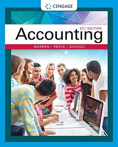 9781337272094 Accounting AbeBooks Carl Warren James M