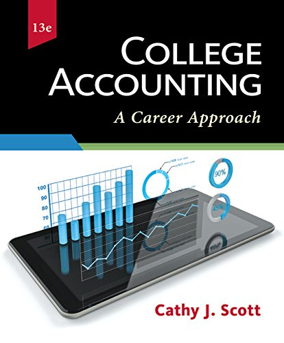 9781337280563: College Accounting: A Career Approach (with QuickBooks Online)