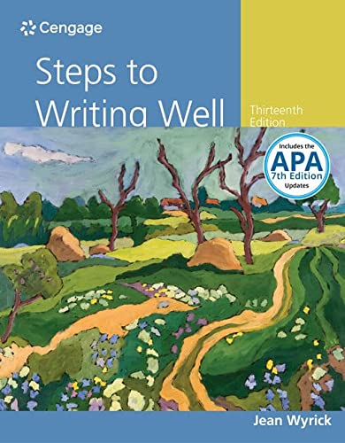 9781337280938: Steps to Writing Well with APA 7e Updates