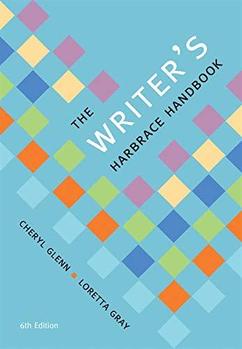 9781337285070: The Writer's Harbrace Handbook (with 2016 MLA Update Card) (The Harbrace Handbook Series)