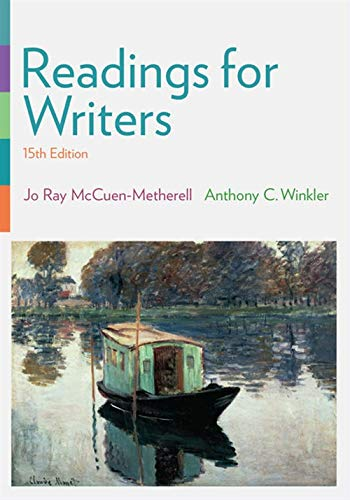 9781337286879: Readings for Writers (with 2016 MLA Update Card)