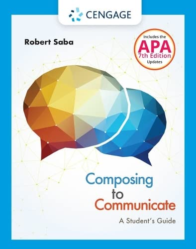 9781337287517: Composing to Communicate: A Student's Guide (with 2016 MLA Update Card)