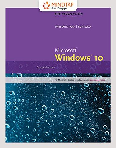 Bundle: New Perspectives Microsoft Windows 10: Comprehensive + LMS Integrated MindTap Computing, 1 ...