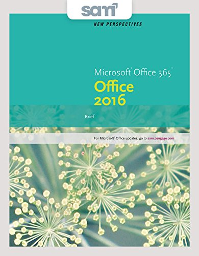 9781337354929: Bundle: New Perspectives Microsoft Office 365 & Office 2016: Brief + LMS Integrated SAM 365 & 2016 Assessments, Trainings, and Projects with 1 MindTap Reader Printed Access Card