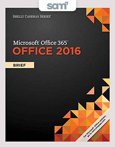 9781337354981: Bundle: Shelly Cashman Series Microsoft Office 365 & Office 2016: Brief, Loose-leaf Version + LMS Integrated SAM 365 & 2016 Assessments, Trainings, ... with 2 MindTap Reader Printed Access Card