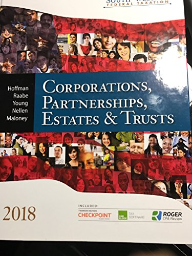 Download South-western Federal Taxation 2018: Corporations, Partnerships, Estates and Trusts