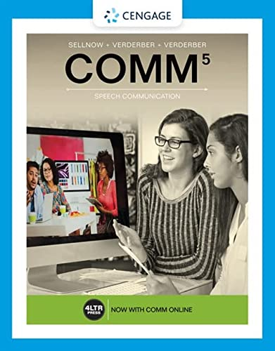 9781337406703: COMM (with COMM Online, 1 term (6 months) Printed Access Card)