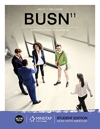 9781337407120: Busn (with Mindtap Business, 1 Term (6 Months) Printed Access Card) [With Access Card] (New, Engaging Titles from 4ltr Press)