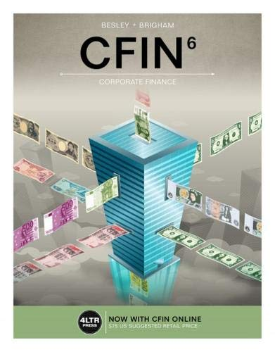 9781337407342: CFIN (with MindTap Finance, 1 term (6 months) Printed Access Card)