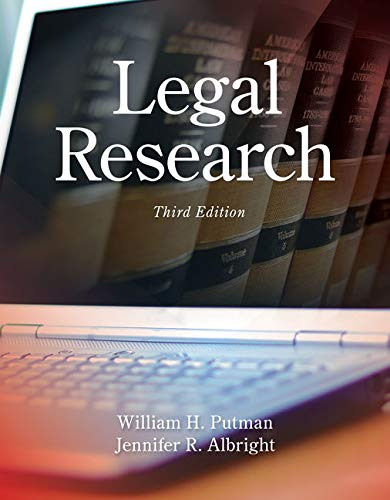 Legal Research, Loose-Leaf Version: Putman, William H.;