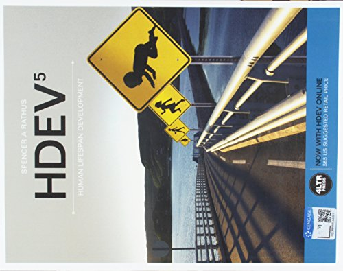 9781337493116: Bundle: HDEV, 5th + HDEV Online, 1 term (6 months) Printed Access Card + LMS Registration Sticker