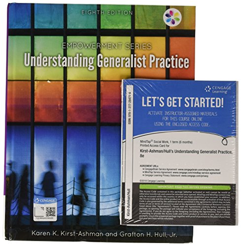 Bundle: Empowerment Series: Understanding Generalist Practice, 8th: Karen K. Kirst-Ashman