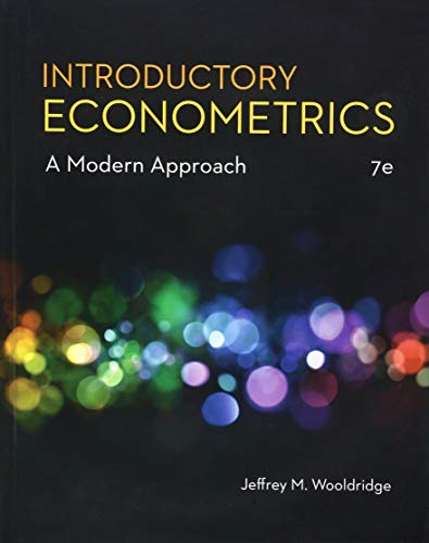 9781337558860: Introductory Econometrics: A Modern Approach