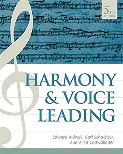 9781337560573: Harmony and Voice Leading