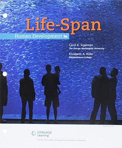 Life-span Human Development + Mindtap Psychology &: Sigelman, Carol K./