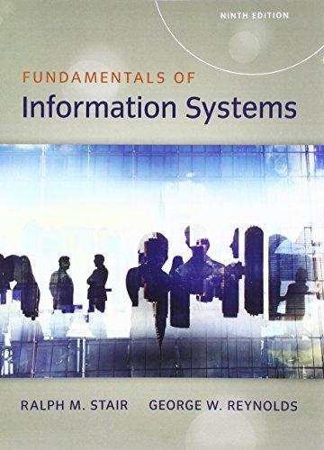 Bundle: Fundamentals of Information Systems, Loose-Leaf Version, 9th + MindTap MIS, 1 term (6 ...