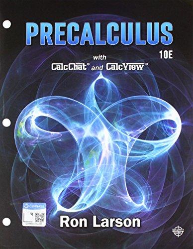 Download Bundle: Precalculus, Loose-leaf Version, 10th + WebAssign, Single-Term Printed Access Card