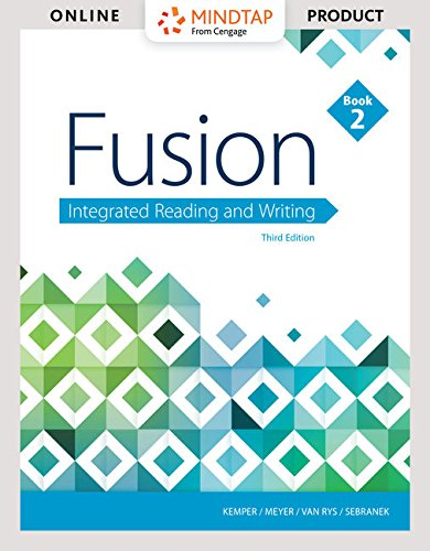 Bundle: Fusion: Integrated Reading and Writing, Book