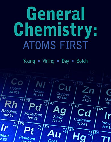 Chemistry Atoms First: Young Vining Day,