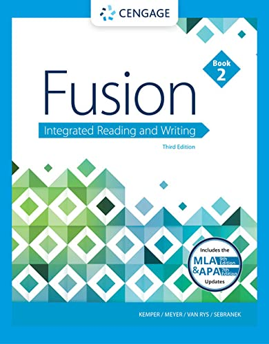 9781337615181: Fusion: Integrated Reading and Writing, Book 2