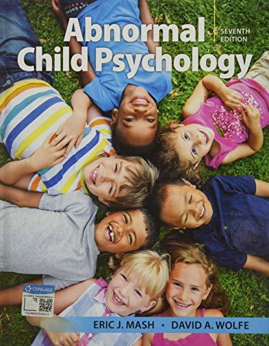 9781337624268: Abnormal Child Psychology