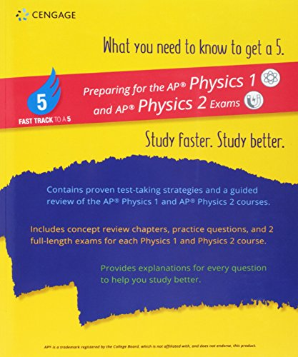 9781337629294: Fast Track to a 5 Test Prep for AP Physics 1