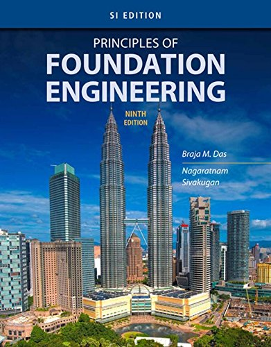 9781337705035: Principles of Foundation Engineering: SI Edition