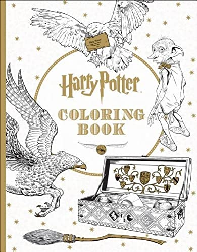 9781338029994: Harry Potter Coloring Book