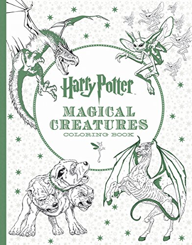 9781338030006: Harry Potter Magical Creatures Coloring Book