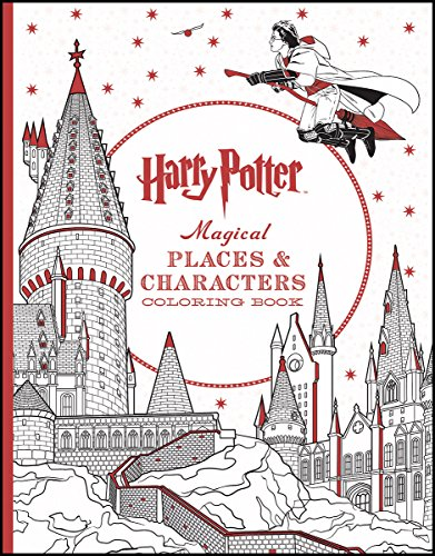 9781338030013: Harry Potter Magical Places & Characters Coloring Book
