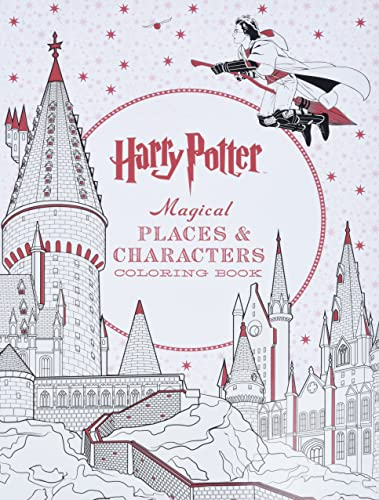 9781338030013 Harry Potter Magical Places Characters Coloring
