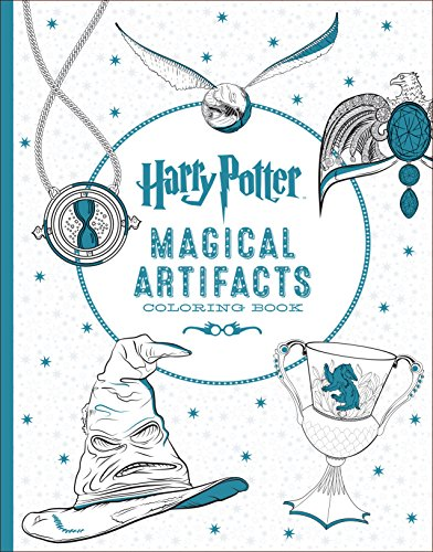 9781338030020: Harry Potter Magical Artifacts Coloring Book