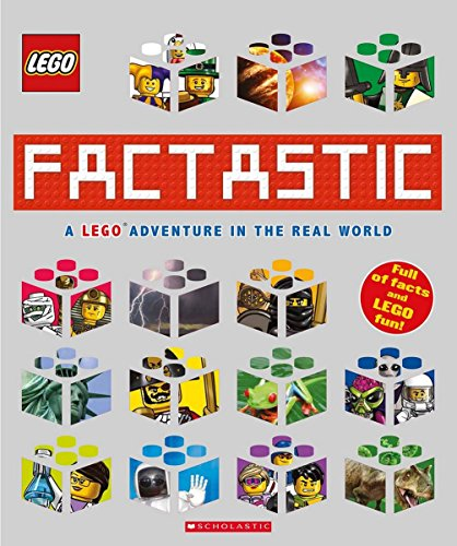 Factastic A Lego Adventure in the Real World Lego Nonfiction 9781338032840 LEGO just got Factastic! Find out everything you ever wanted to know about the world, with a little help from smart LEGO minifigures, li