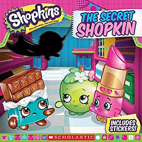 The Secret Shopkin (Shopkins: 8x8): Inc. Scholastic