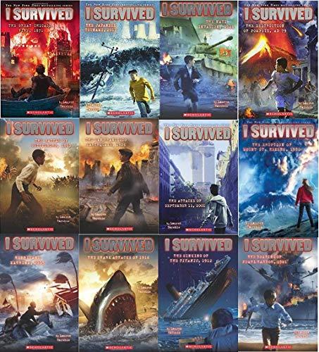9781338046335: i Survived 12 pack book set