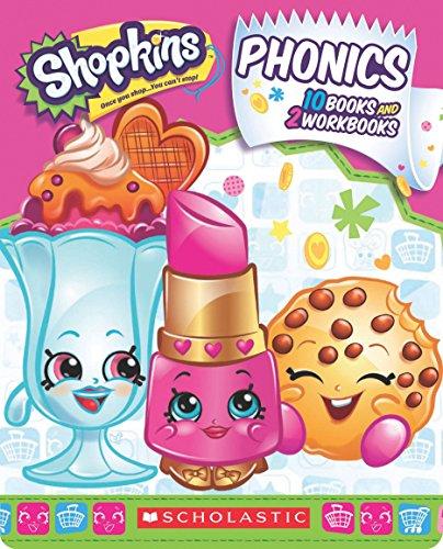 9781338046359: Shopkins Phonics Boxed Set