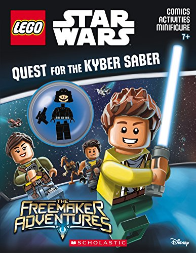 9781338047431: Quest for the Kyber Saber (LEGO Star Wars: Activity Book with Minifigure)