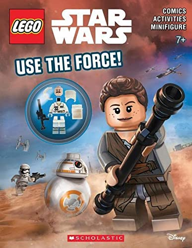 9781338047455: Use the Force! (LEGO Star Wars: Activity Book)