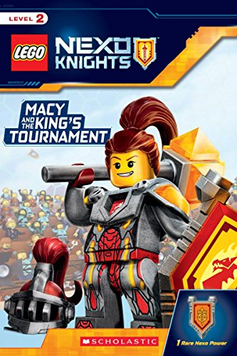 9781338055580: Macy and the King's Tournament (LEGO NEXO KNIGHTS: Reader)