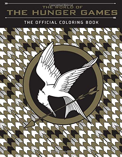 9781338096194: The World Of The Hunger Games. The Official Colori (Colouring Books)