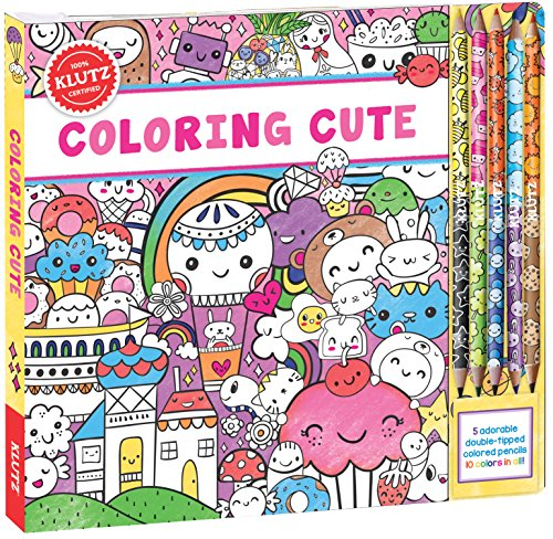 9781338103984: Coloring Cute (Klutz)
