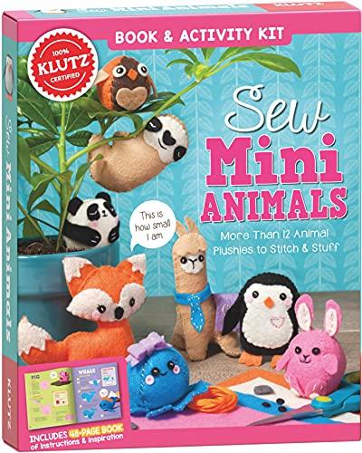 Klutz Sew Mini Animals Toy