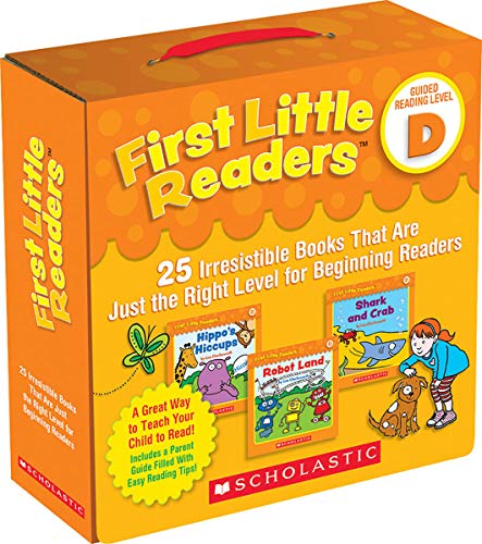 9781338111507: First Little Readers Parent Pack: Guided Reading Level D: 25 Irresistible Books That Are Just the Right Level for Beginning Readers