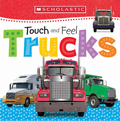 9781338116632: Touch and Feel Trucks (Scholastic Early Learners)
