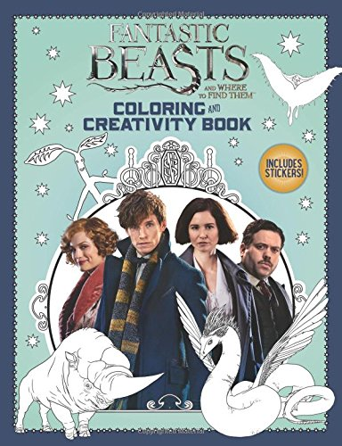 9781338116809: Coloring and Creativity Book (Fantastic Beasts and Where to Find Them)