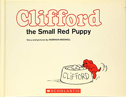 9781338124248: Clifford the Small Red Puppy: Vintage Hardcover Edition