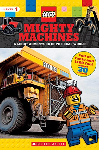 9781338130201: Mighty Machines (LEGO Nonfiction): A LEGO Adventure in the Real World